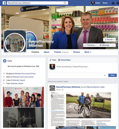 Reens-Pharmacy-Millstreet-Facebook